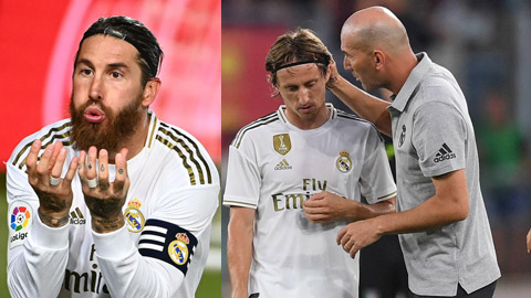 Modric gia hạn, Ramos ở lại Real