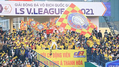 Sân Thanh Hóa tiếp tục miễn phí vé cho khán giả