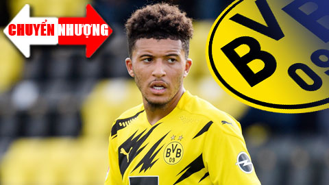 Tin chuyển nhượng 26/1: Dortmund chấp nhận buông Sancho hè 2021