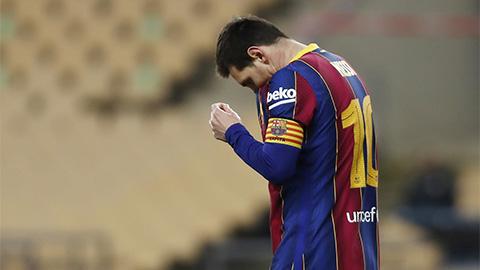 'Messi cứ không đá là Barca lại thắng'