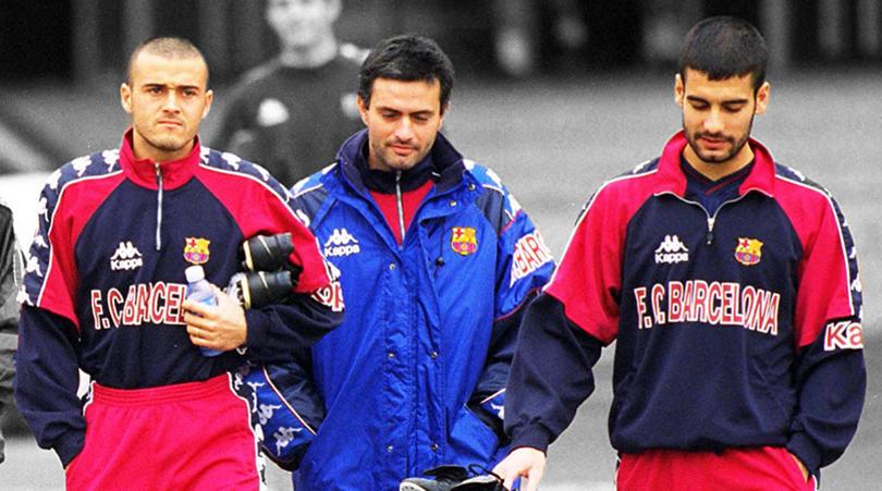 Mourinho nhanh chóng trở thành bạn thân của Pep Guardiola, người sau trở thành kình địch ở La Liga và Premier League