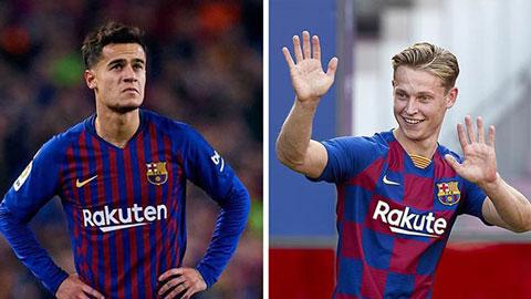 Tiết lộ sốc: Barca nợ như chúa chổm, chưa trả hết tiền mua Coutinho và De Jong
