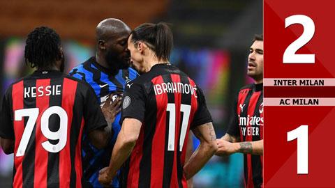 Inter 2-1 AC Milan (Tứ kết Coppa Italia 2020/21)