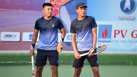 Lý Hoàng Nam vào tứ kết đôi nam VTF Masters 500-1-Hải Đăng Cup 2021