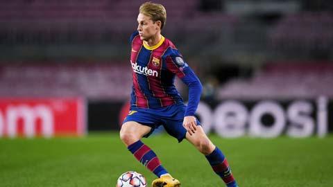 Barca: Khi De Jong được giải phóng