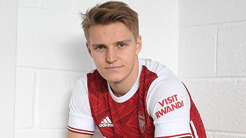 Odegaard gia nhập Arsenal đến hè 2021