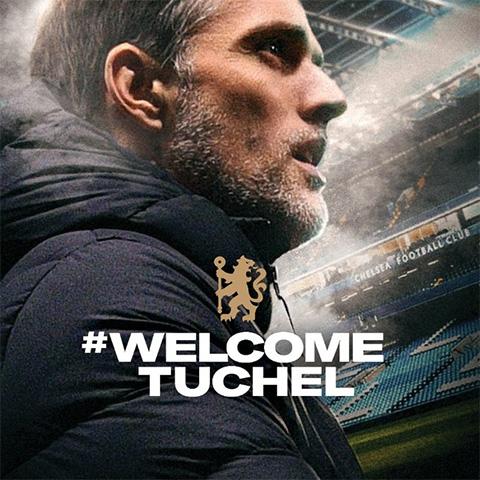 Chelsea chính thức bổ nhiệm HLV Tuchel