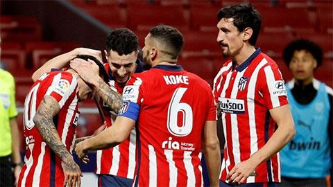 Atletico là đội mạnh nhất châu Âu khi được thi đấu trên sân nhà