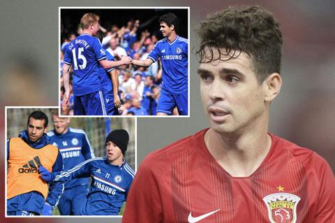 Oscar từng thi đấu cùng cả De Bruyne và Salah