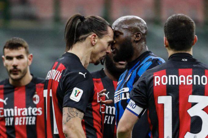 Ibrahimovic ghi bàn và nhận thẻ đỏ ở trận Inter vs Milan