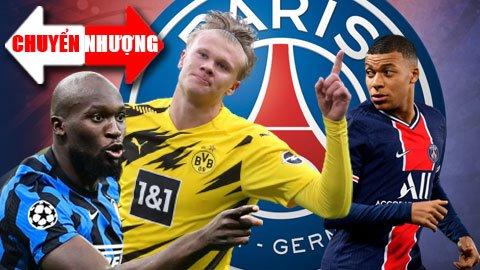 Tin chuyển nhượng 28/1: PSG nhắm Lukaku hoặc Haaland để thay Mbappe