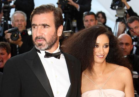 Cantona và vợ đều là diễn viên kiêm nhà sản xuất phim