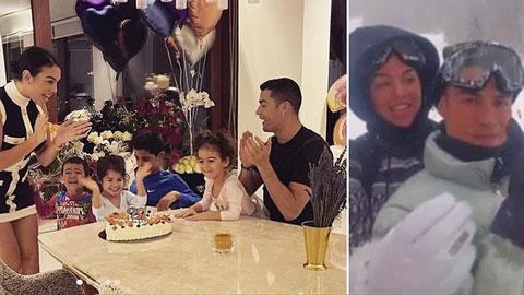 Ronaldo vi phạm quy định Covid-19 để tổ chức sinh nhật cho bạn gái?