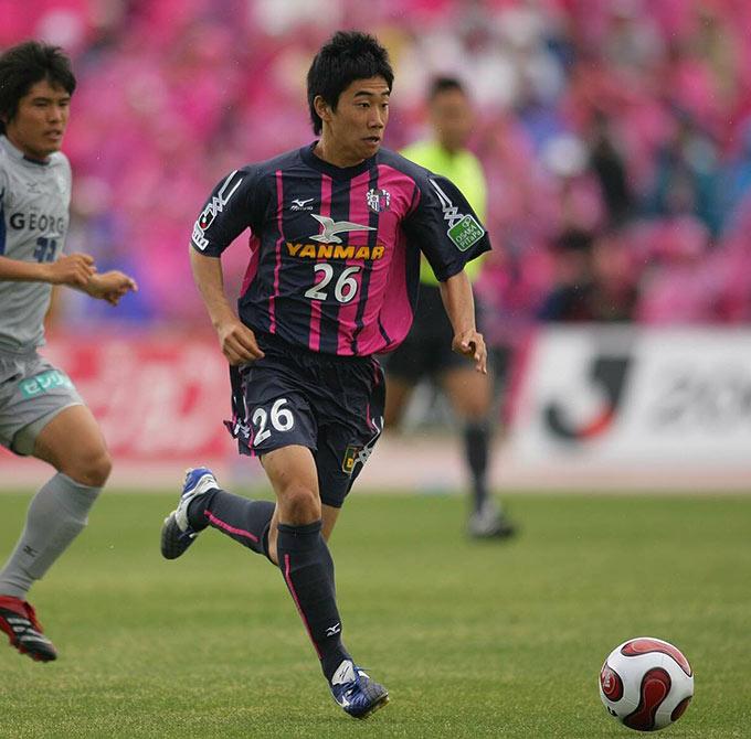 Shinji Kagawa từng có thời gian trưởng thành từ Cerezo Osaka