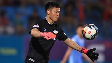 (Báo tết) Trần Nguyên Mạnh - Thủ môn xuất sắc nhất V.League 2020: Năm... mạnh của Mạnh
