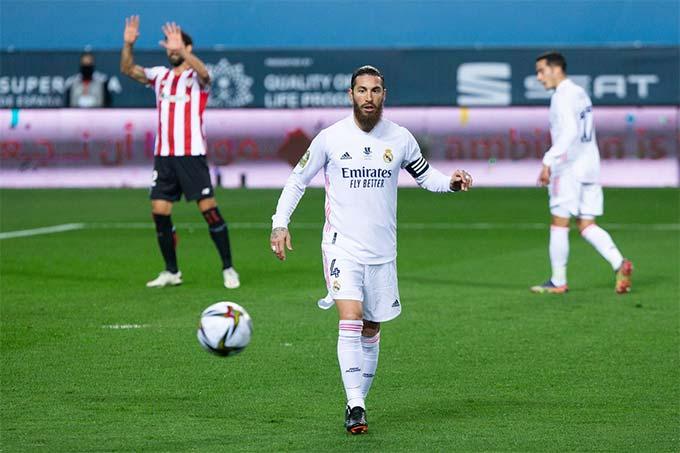 Ramos đã gắn bó với Real suốt từ năm 2005 tới nay
