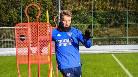 Thành viên Arsenal bất bại gợi ý cho Arteta cách sử dụng Odegaard