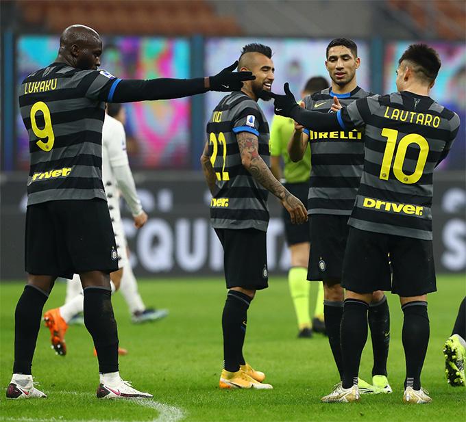 K U1ebft Qu U1ea3 Inter Milan 4 0 Benevento Song S U00e1t Martinez