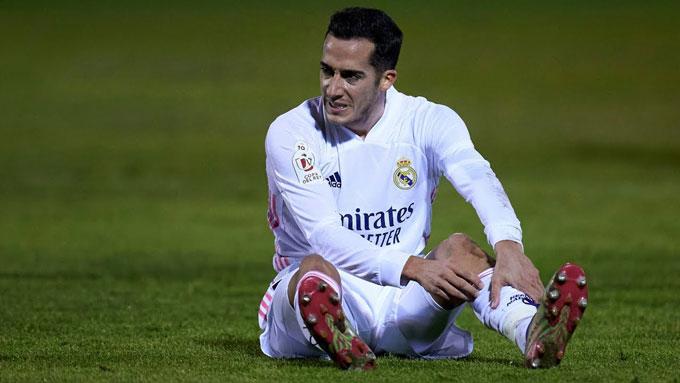 Các ngôi sao của Real như Lucas Vazquez liên tục chấn thương trong thời gian qua