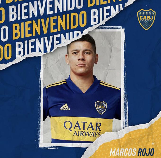 Rojo đã là người của Boca Juniors