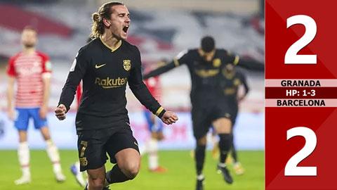 Granada 3-5 Barca: Ngược dòng điên rồ