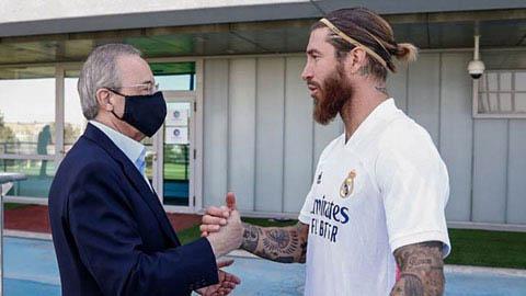 Real ra hạn chót cho Ramos quyết định tương lai