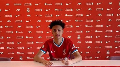 Liverpool chiêu mộ thành công 'sao mai' 16 tuổi