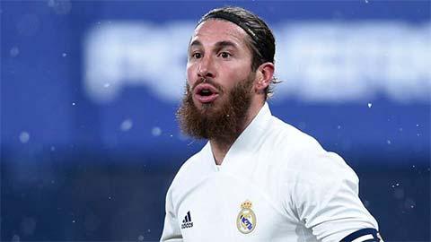 Ramos phẫu thuật đầu gối, lỡ derby Madrid và Champions League
