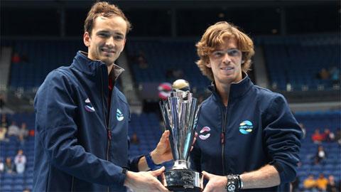 Daniil Medvedev giúp Nga vô địch ATP Cup 2021