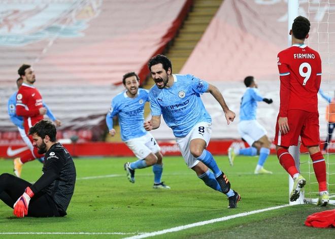 Man City có màn chạy đà hoàn hảo