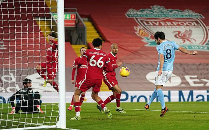 Hàng thủ Liverpool chơi cực tệ