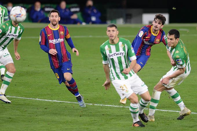 Trincao gây ấn tượng mạnh với bàn thắng vào lưới Betis