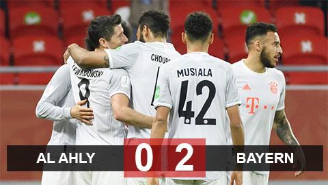 Al Ahly 0-2 Bayern: ĐKVĐ châu Âu thẳng tiến vào chung kết Club World Cup