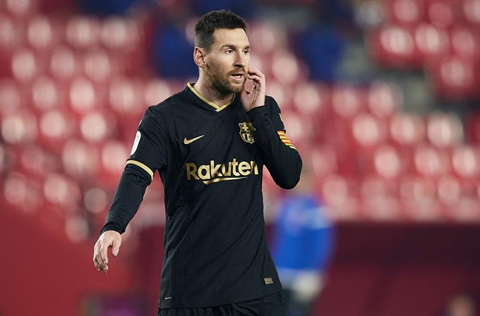 Messi có muốn tới Man City?
