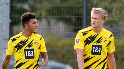 Dortmund tính bán cả Haaland lẫn Sancho để tái thiết đội hình