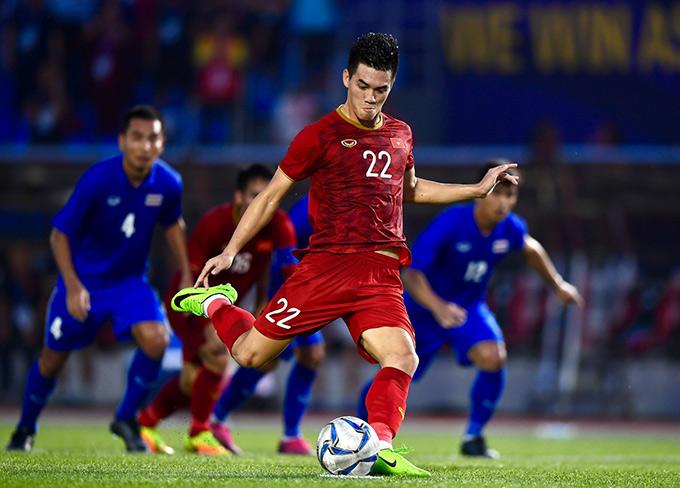 U22 Việt Nam từng loại Thái Lan ở SEA Games, nhưng chưa bao giờ có một chiến thắng trực tiếp sau 12 lần đối đầu