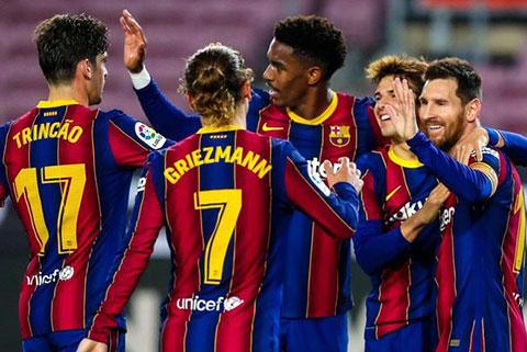 Barca đang thi đấu rất ấn tượng thời gian qua