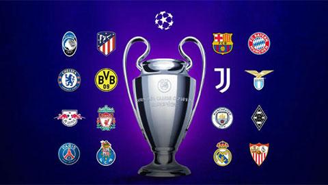Vòng 1/8 Champions League trở lại đêm nay
