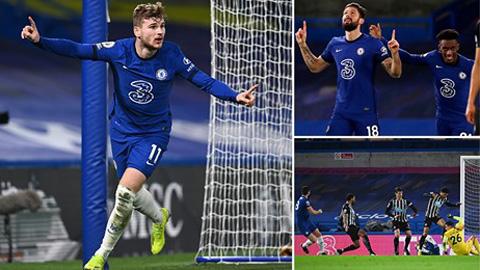 Điểm nhấn trận Chelsea 2-0 Newcastle: Werner và Kepa lấy lại tự tin