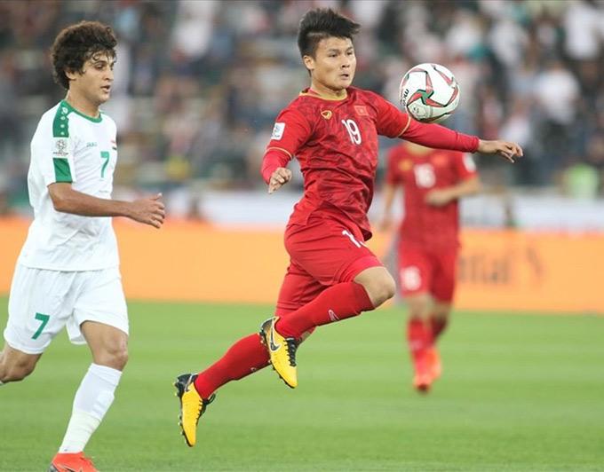 Đội tuyển Việt Nam hưởng lợi từ lịch thi đấu