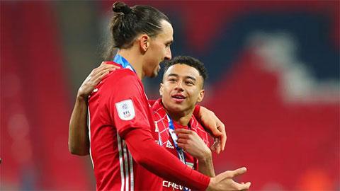 Lingard: 'Tôi mang tinh thần của Ibrahimovic và Mourinho đến West Ham'