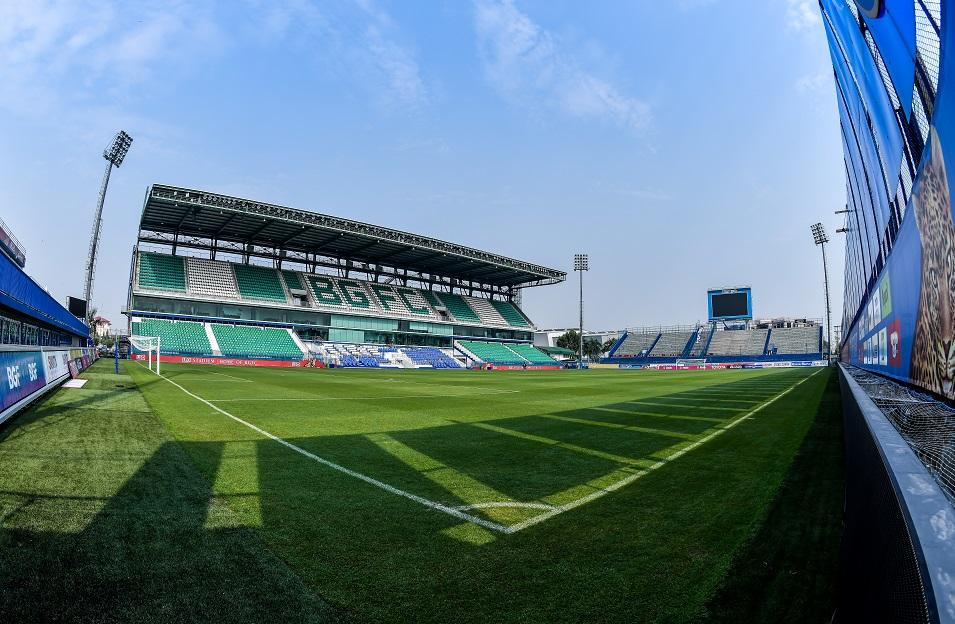 Sân Leo của chủ nhà BG Pathum nhiều khả năng sẽ được lựa chọn tổ chức vòng bảng AFC Champions League