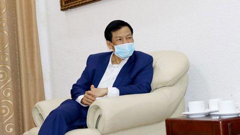 Bộ trưởng Nguyễn Ngọc Thiện gửi lời nhắn nhủ HLV Park Hang Seo