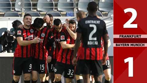 Eintracht Frankfurt vs Bayern Munich: 2-1 (Vòng 22 Bundesliga 2020/21)
