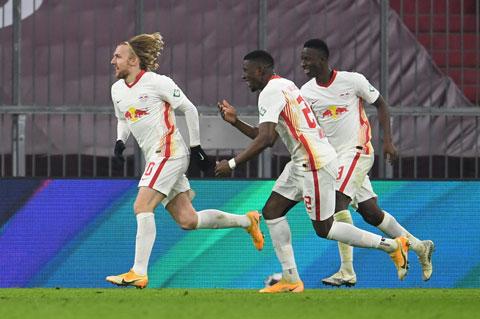 Leipzig đã thắng 7 trong 9 lần đối đầu Hertha