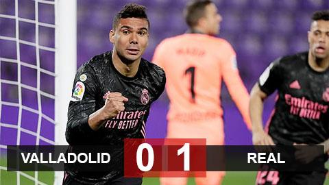 Valladolid 0-1 Real: Hâm nóng cuộc đua vô địch
