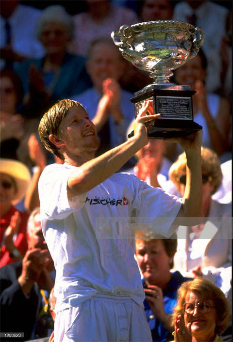Yevgeny Kafelnikov vô địch Australian Open 1999