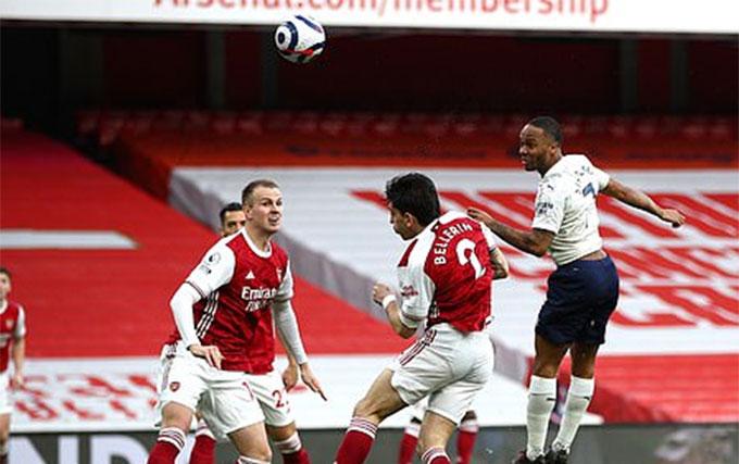 Sterling ghi bàn thắng duy nhất của trận đấu