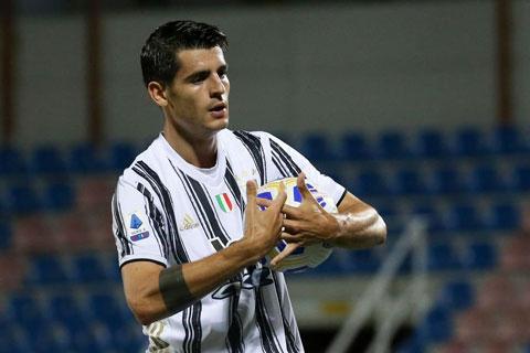 Juventus muốn mượn Morata thêm 1 mùa nữa