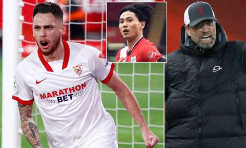 Liverpool có thể dùng Minamino kèm vào hợp đồng mua Ocampos